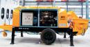波特重工HBT电机系列拖泵(川崎油泵)高清图 - 外观