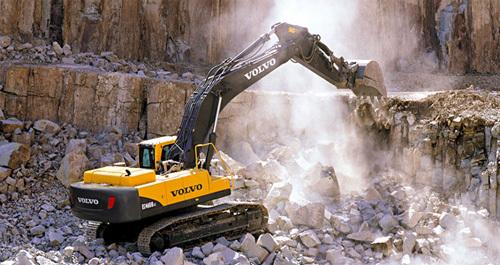 沃尔沃EC460B Prime履带式挖掘机