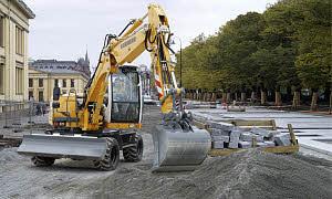 利勃海尔A311Litronic轮式挖掘机高清图 - 外观
