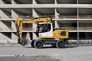 利勃海尔A 920 Litronic轮式挖掘机