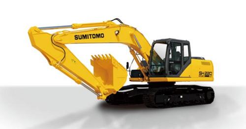 【720°全景展示】住友SH220LC挖掘机