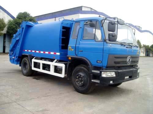 三民重科QZZ-8汽车液压自装式垃圾车高清图 - 外观