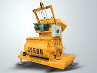 鸿达JS1000混凝土搅拌机高清图 - 外观