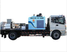 三民重科HBCS100-16-180BR型车载泵高清图 - 外观