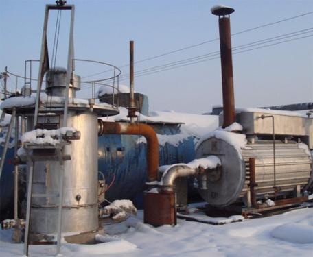 滄田重工經濟型熱煤氣瀝青導熱油設備