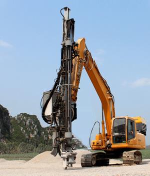 恒日重工W89A凿岩机高清图 - 外观