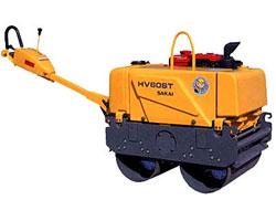 酒井HV60ST小型振动压路机高清图 - 外观