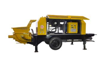 瑞汉电机系列混凝土输送泵高清图 - 外观