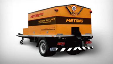 美通筑机MTB3000型沥青保温车高清图 - 外观