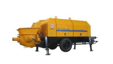 瑞汉柴油机系列混凝土输送泵高清图 - 外观
