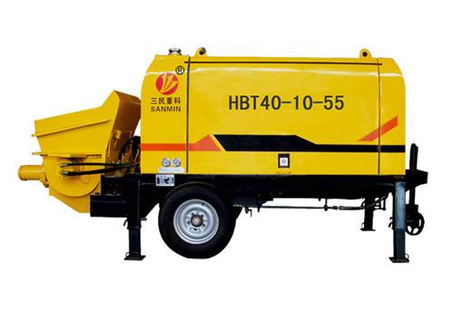 三民重科HBT40-10-55型细石混凝土泵