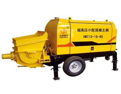 三民重科HBT15-16-45型超高压小型混凝土泵