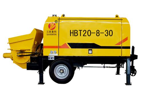 三民重科HBT20-8-30型细石混凝土泵