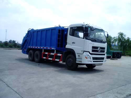 三民重科QZZ-4汽车液压自装式垃圾车高清图 - 外观