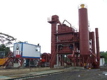鸿达LB1000沥青混合料搅拌设备高清图 - 外观