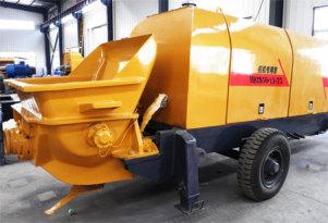 赛通重工HBTS50-13-75桩机专用拖泵