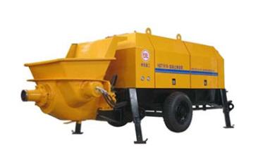 瑞汉双动力系列混凝土输送泵高清图 - 外观