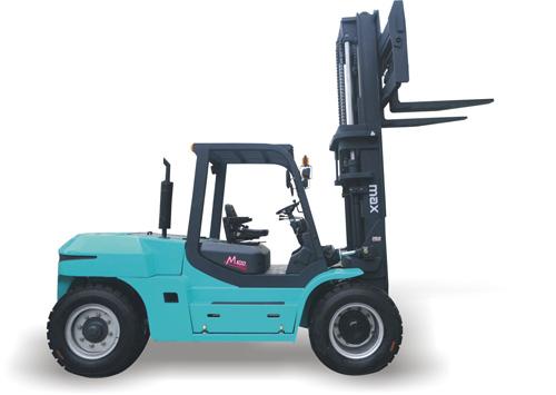美科斯FD80T/FD100T型8-10吨柴油内燃叉车高清图 - 外观