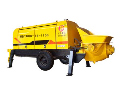三民重科HBT80B-16-110S型大型混凝土泵