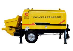 三民重科LSBT10型水泥乳化沥青砂浆专用泵