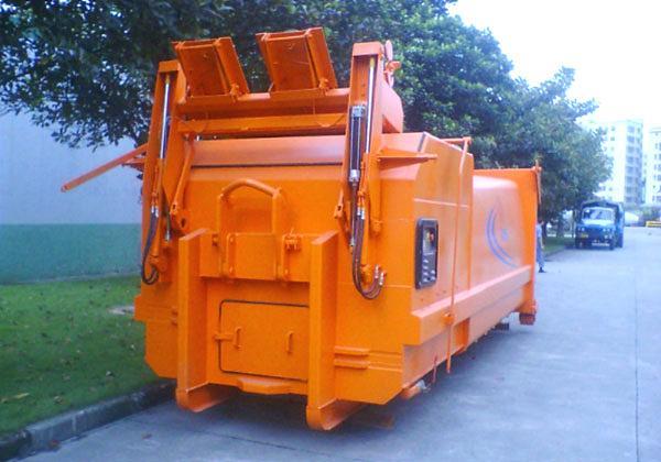 三民重科LLYS-15连体式水平垃圾站高清图 - 外观