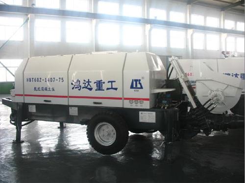 鸿达HBT60Z1407-130R拖泵高清图 - 外观