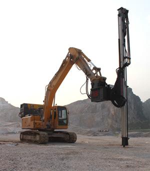 恒日重工W89D凿岩机高清图 - 外观