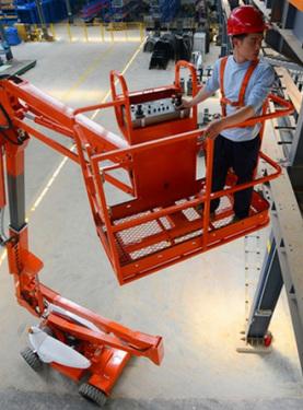 星邦智能GTZZ14E曲臂高空作业平台