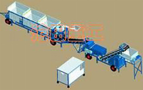 沧田重工WB300/WBD300/WBD400/WBD500/WBD600稳定土厂拌设备
