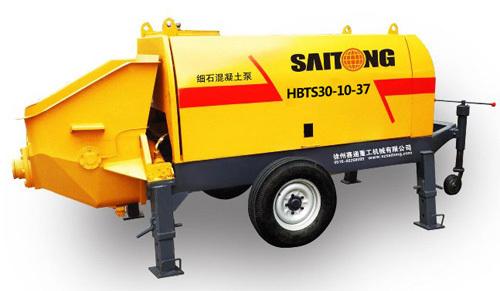 赛通重工HBTS30-10-37(经济型)细石拖泵