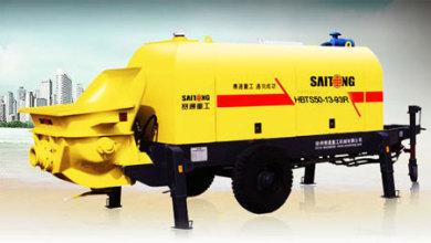 赛通重工HBTS50-13-93R柴油机拖泵高清图 - 外观