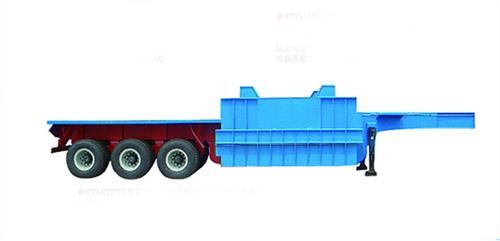 唐鸿重工XT9400TTS铁水运输半挂车高清图 - 外观