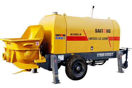 赛通重工HBTS55-13-103R柴油机小型拖泵