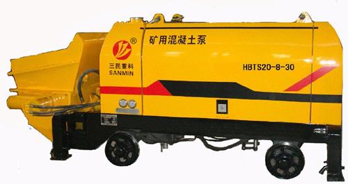 三民重科HBTS20-8-30煤矿防爆混凝土泵
