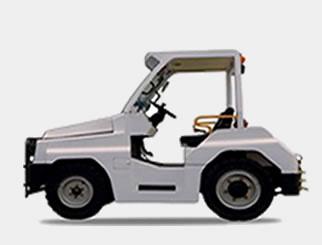 美科斯QCT20/QCT25型内燃牵引车高清图 - 外观