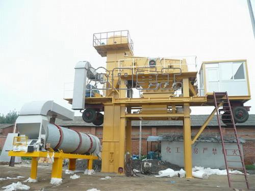 沧田重工YLB1000沥青搅拌设备高清图 - 外观
