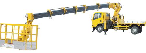石煤机SMJ5080JGKQ28/SMJ5080JGKQ25型伸缩臂高空作业车