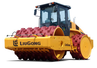 柳工CLG616L压实机高清图 - 外观