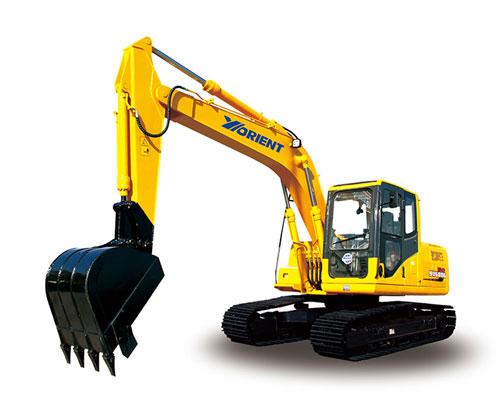 愚公WY150-8履带式挖掘机高清图 - 外观