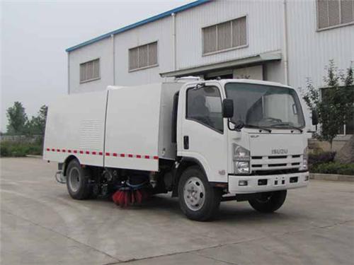 东正炎帝牌SZD5100TXSQ型清扫车高清图 - 外观