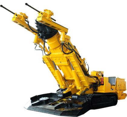 石煤机机载双臂物探多功能掘进机高清图 - 外观