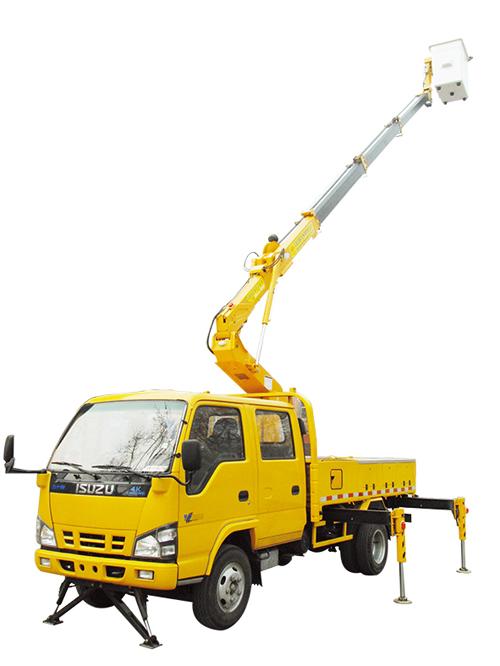石煤机SMJ5050JGKQ15/SMJ5053JGKX15型伸缩臂高空作业车高清图 - 外观