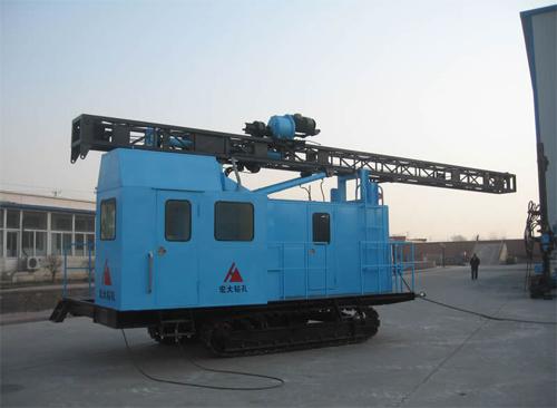 宏大钻孔KQG150Y潜孔钻机高清图 - 外观