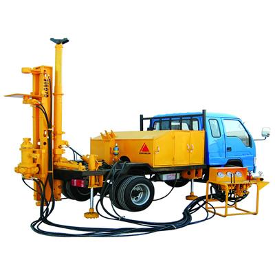 宏大钻孔QZG80E车载潜孔钻机高清图 - 外观