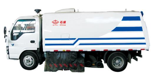 石煤机SMJ5060TSL型清扫车高清图 - 外观