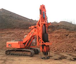 富岛机械HS567全液压快速强夯机