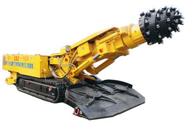 石煤机EBZ160二代半煤岩掘进机高清图 - 外观