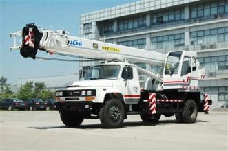 京城重工QY12D汽车起重机高清图 - 外观