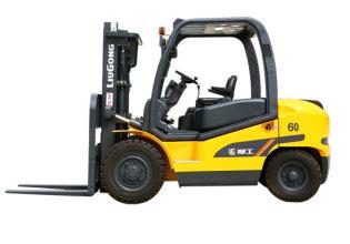 柳工CLG2060H内燃平衡重式叉车高清图 - 外观