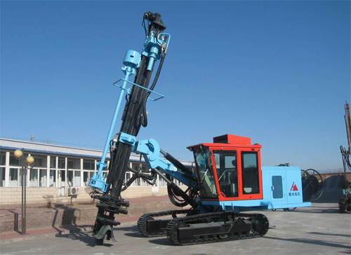 宏大钻孔KQG200液压潜孔钻机